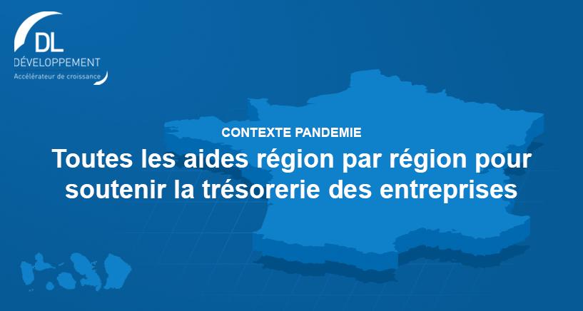 COVID-19 : Liste des aides régionales pour les entreprises
